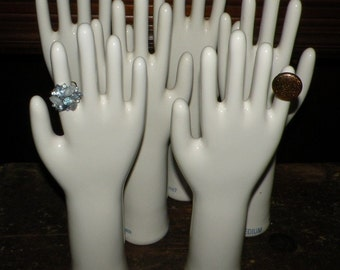 Vintage Porcelain Glove Mold  Made in USA