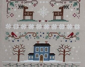 Winter Sampler Cross Stitch