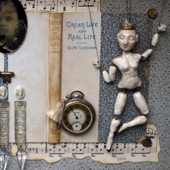 Shadow Box-Dream Life Featured in Art Doll Quarterly Magazine Winter 2010