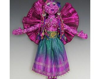 Gypsy Angel Art Doll