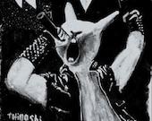 Melvins Screen Printed Rock Poster