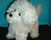 Bichon Puppy Dog Stuffed Animal Pattern to Sew PDF Instant Download