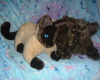 CATS Stuffed Animal Pattern to Sew Instant download