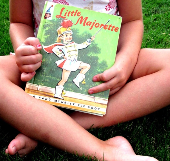 Vintage - Childrens Book- Little Majorette 1959