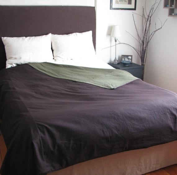 Organic Duvet Cover Bedding Twin Hemp Cotton Simple Duvet