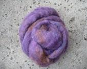 Wensleydale Top Wool Roving - Iris