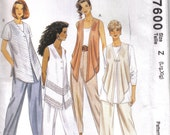 Lg and xLg pant suit pattern