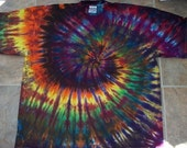 3X AFRICAN SUN Tie Dyed Tshirt