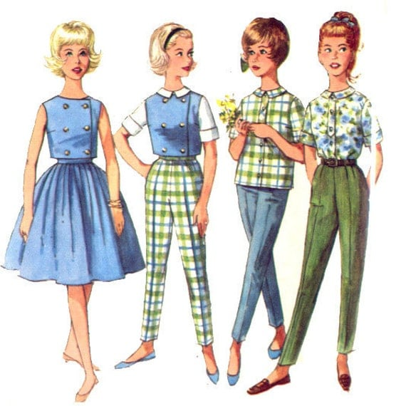 60s style clothing for teenagers