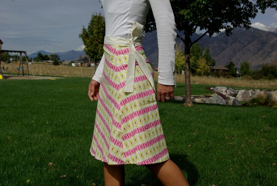 Hazel- wrap skirt, size L/XL