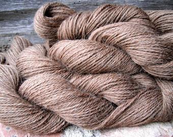 Icelandic Brown Yarn 3ply DK weight