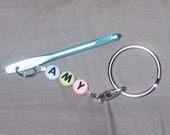 Stitch Saver - Crochet Hook Keychain - Customize