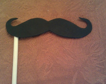 Mustache on a Stick Photo Booth Prop