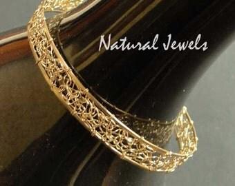 14K Goldfilled Bracelet GOLDEN WEB