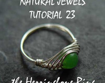 Tutorial 23 - Herringbone Ring