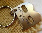 B is for Bob - Silver Tone Pet ID Tag - PICK ANY LETTER