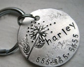 reserved for bigmur - The Harley Tag with two numbers plus calavera skull and a magenta stone
