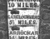 This Way Dunbarton Scotland - Original Signed Fine Art Photograph