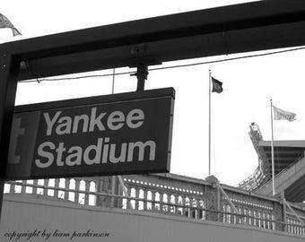 Olde Yankee Stadium - Original Signed Fine Art Photograph