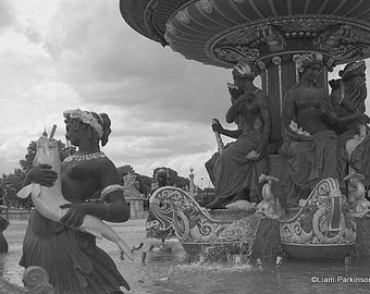 Place de la Concorde - Original Signed Fine Art Photograph