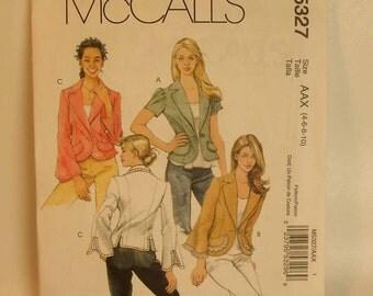 Uncut McCall's Semi-Fitted Jacket Pattern 4 6 8 10
