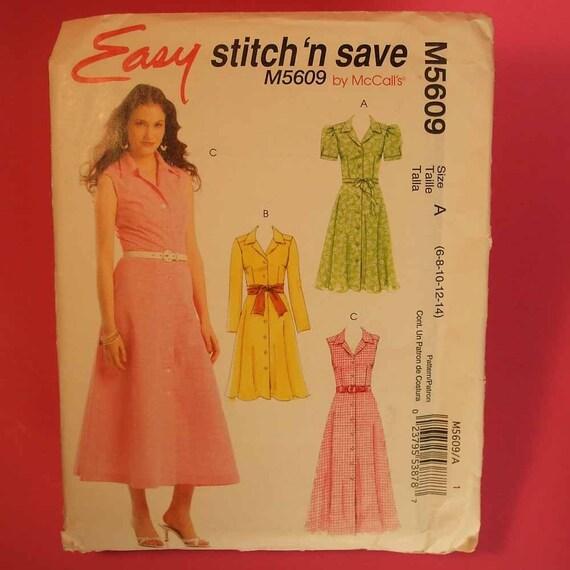 Uncut McCall's Stitch 'n Save Dress Pattern