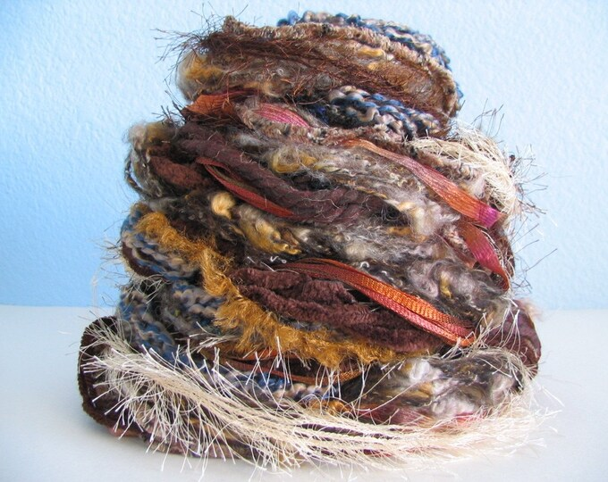 Craft Fiber Collection - Brown Tones