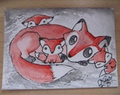 Bidelia loves her children more than anything- Original ACEO