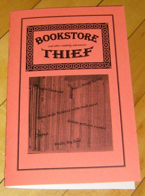 Bookstore Thief ZINE