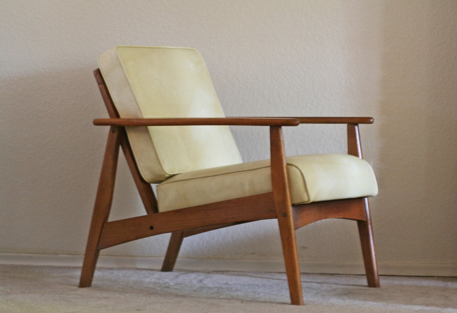 reserved for cathrin mid century modern lounge chair