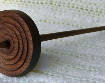 Walnut Flat top top whorl Spindle
