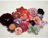 Deep Purple and Pink and the Whole Kitchen Sink - Floral Assortment