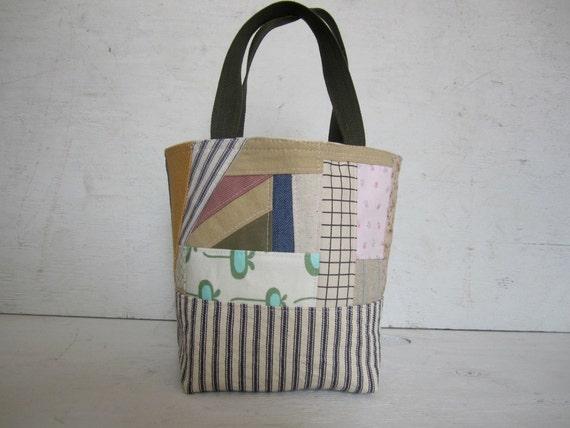 Mini M.ark.et Bag Patchwork Tote