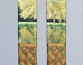 Green Liturgical Clergy Stole for Ordinary Time DEEP ROOTS