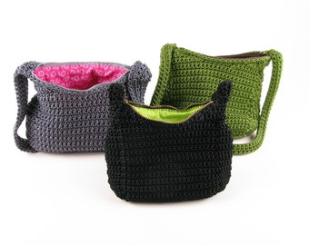Crochet Pattern Purse - Digital Download PDF Crochet Pattern