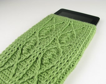Crochet Pattern Kindle Fire Cover Crochet Cable Fish - Digital Download PDF Crochet Pattern