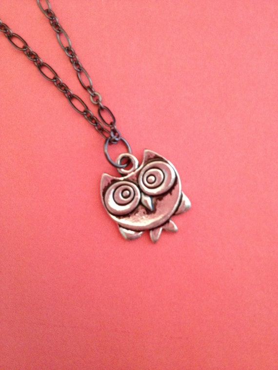 The Stark Owl Necklace
