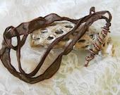 Vintage Bobbin Necklace