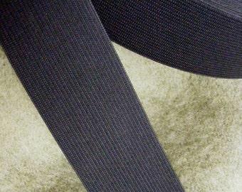 black elastic, 1 3/4 inch wide