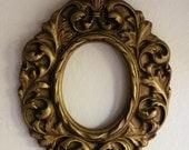 Fancy Vintage Plaster Frame