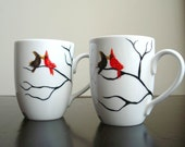 Love Birds Coffee Mugs