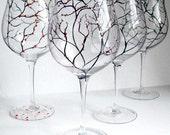 The Four Seasons Pinot Noir Wine Glasses--4 Piece Collection--LAST SET