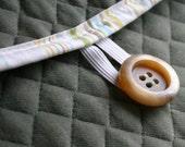 the laptop sleeve sock, scrap upholstery fabric