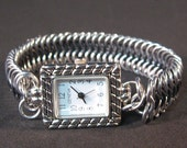 Chainmaille Black Strap Watch
