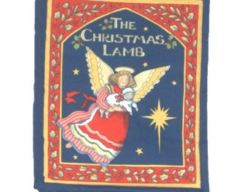 CLOTH / SOFT BOOK - The Christmas Lamb - A Shepherd's Lamb Discovers the Story of the Nativity