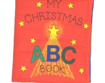 SOFT / CLOTH BOOK - My Christmas abc Book