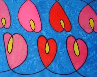 Heart Light Silk Scarf