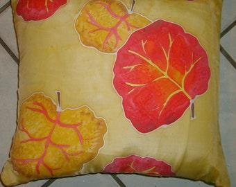 Sea Grape Silk Pillow Cover
