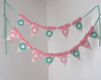 Custom Vintage Birthday party, holiday Banner Cupcake, Baby, Congratulations, You choose, You personalize