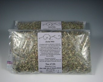 Organic Herbal Bath - A healing, soothing bath for every woman and newborn after childbirth or for anyone needing a good soak